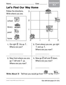 Let's Find Our Way Home: Enrichment Worksheet