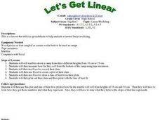 Let's Get Linear Lesson Plan