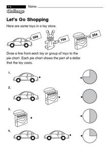 Let's Go Shopping Worksheet