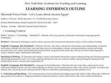 Let's Learn About Ancient Egypt! Lesson Plan