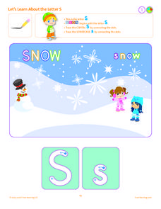 Let's Learn About the Letter S Lesson Plan