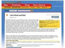 Let's Rock and Roll Lesson Plan