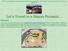 Let's Travel to a Mayan Pyramid Lesson Plan