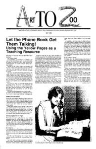 Let the Phone Get Them Talking! Using the Yellow Pages as a Teaching Resource Lesson Plan