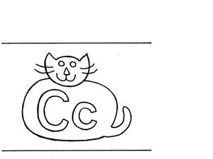 Letter C Flashcard Worksheet