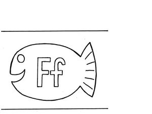 Letter F Flashcard Worksheet