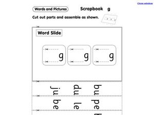 Letter G Worksheet
