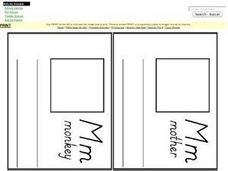 Letter M Words:  Words and Definitions Worksheet
