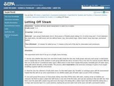 Letting Off Steam Lesson Plan