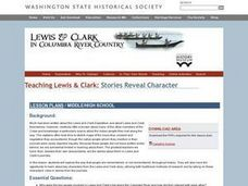 Lewis and Clark In Columbia River Country Lesson Plan