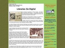 Libraries Go Digital Lesson Plan