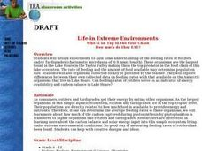 Life In Extreme Environments Lesson Plan