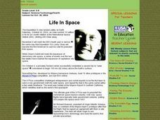 Life In Space Lesson Plan