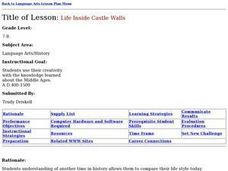 Life Inside Castle Walls Lesson Plan
