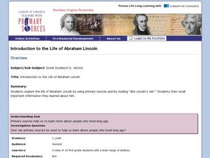 Life of Abraham Lincoln Lesson Plan