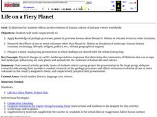 Life on a Fiery Planet Lesson Plan