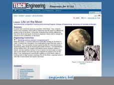Life on the Moon Lesson Plan