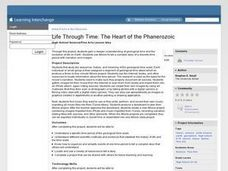 Life Through Time: The Heart of the Phanerozoic Lesson Plan