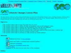 Lifestyle Changes Lesson Plan