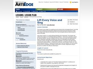 Lift Every Voice and Sing Worksheet