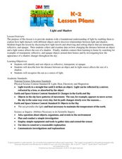 Light and Shadow Lesson Plan