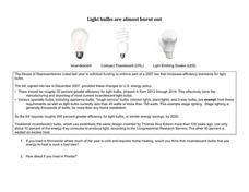 thomas edison light bulb lesson plans worksheets. Black Bedroom Furniture Sets. Home Design Ideas
