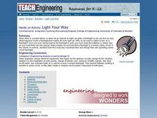 Light Your Way Lesson Plan