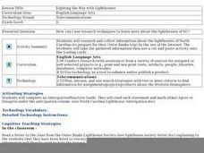Lighting the Way with Lighthouses Lesson Plan