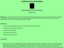 Lightning Speed Reading Lesson Plan
