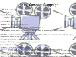 Lights, Camera, Campaign  Lesson Plan