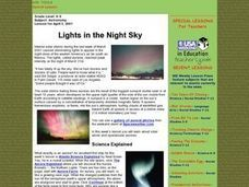 Lights in the Night Sky Lesson Plan