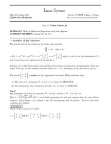 Differential Equations Worksheet - Gamersn