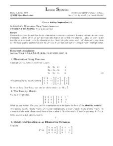 Worksheets Matrix Operations Worksheet collection of matrix operations worksheet bloggakuten linear systems using 12th higher ed worksheet