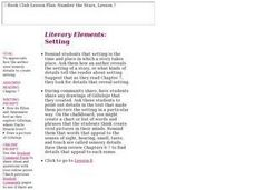 Literary Elements: Lesson Plan