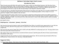 Literature Overview of African Folktales Lesson Plan