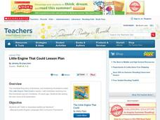 Little Engine That Could Lesson Plan Lesson Plan