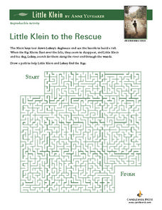 Little Klein to the Rescue Lesson Plan