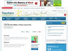 Little Red Hen (Makes a Pizza) Lesson Plan Lesson Plan