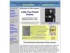 Little Toy Friends Lesson Plan