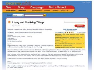 Living and Nonliving Things Lesson Plan