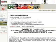 Living in the Greenhouse Lesson Plan