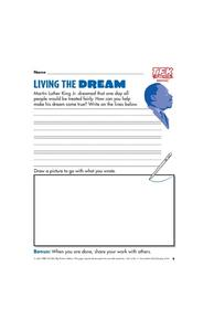Living the Dream? Lesson Plan