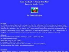 Load the Boat To Travel the Moat Lesson Plan