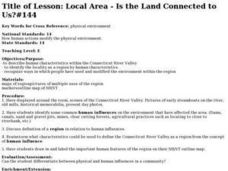 Local Area - Is the Land Connected to Us?#144 Lesson Plan