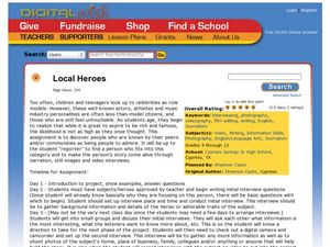 Local Heroes Lesson Plan