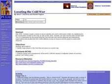 Locating The Cold War Lesson Plan