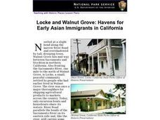 Locke and Walnut Grove: Havens for Early Asian Immigrants in California Lesson Plan