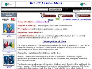 Locomotor Roll Lesson Plan