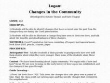 Logan: Changes in the Community Lesson Plan