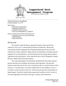Loggerhead Nest Management Program Lesson Plan